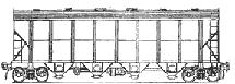 вагон для гранулированных полимеров